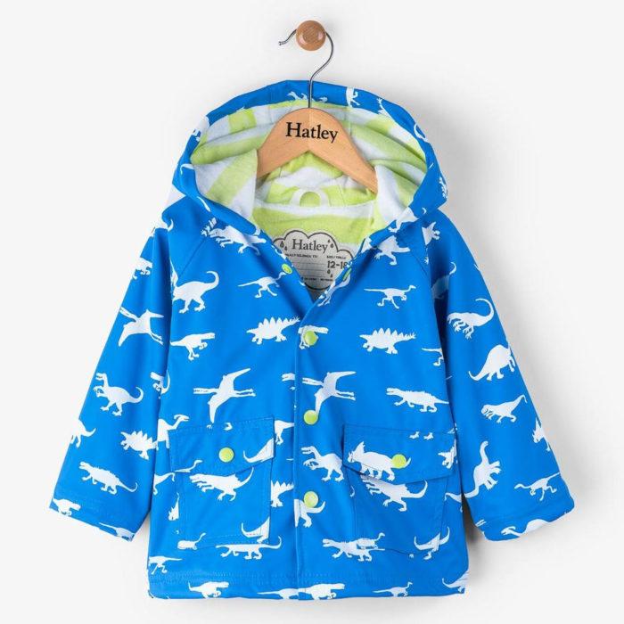 Hatley Colour Changing Dinosaur Mini Raincoat
